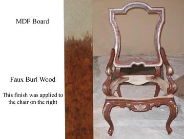Chair & Sample